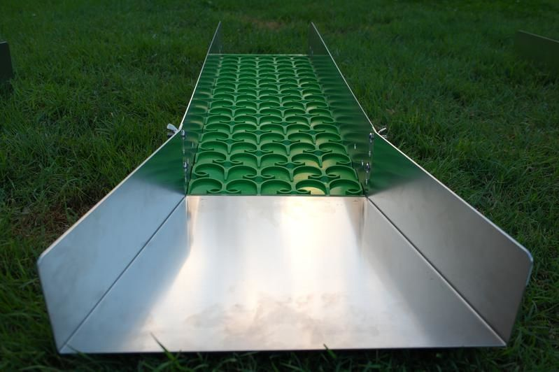 10andquot Gold Sluice with Matting