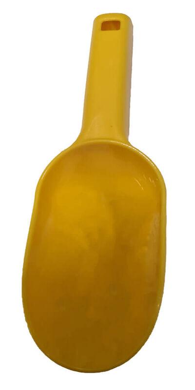 Yellow Plastic Scoop