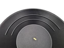 105 Black Plastic Pan